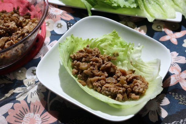Low-FODMAP Chicken Lettuce Cup | Erika's Gluten-free Kitchen erikasglutenfreekitchen.com