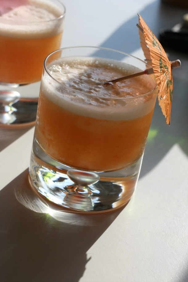 Hawaiian Stone Sour. This bourbon-based cocktail is a vacation in a glass.   erikasglutenfreekitchen.com