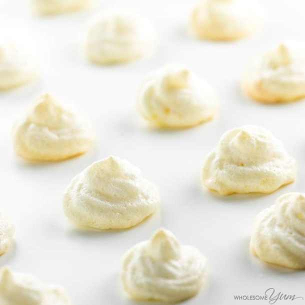 sugar free meringue cookies