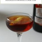 coupe glass The Sacramento Cocktail