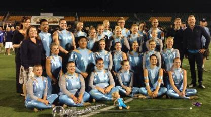 Minnesota Brass 2014 Color Guard at DCA Finals in Rochester, NY