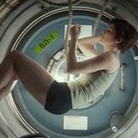La vida en el espacio es imposible: Gravity.