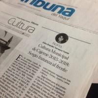 Cultura Municipalde Cajeme 2015-2018:Sergio Inzunza al frente.