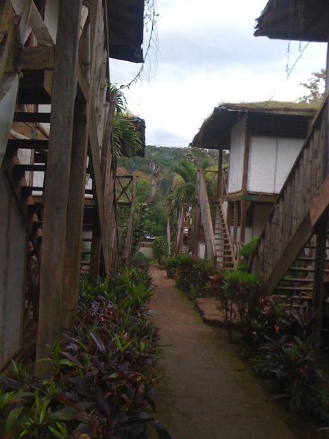 Santa Emilia Stairway PIC: EB