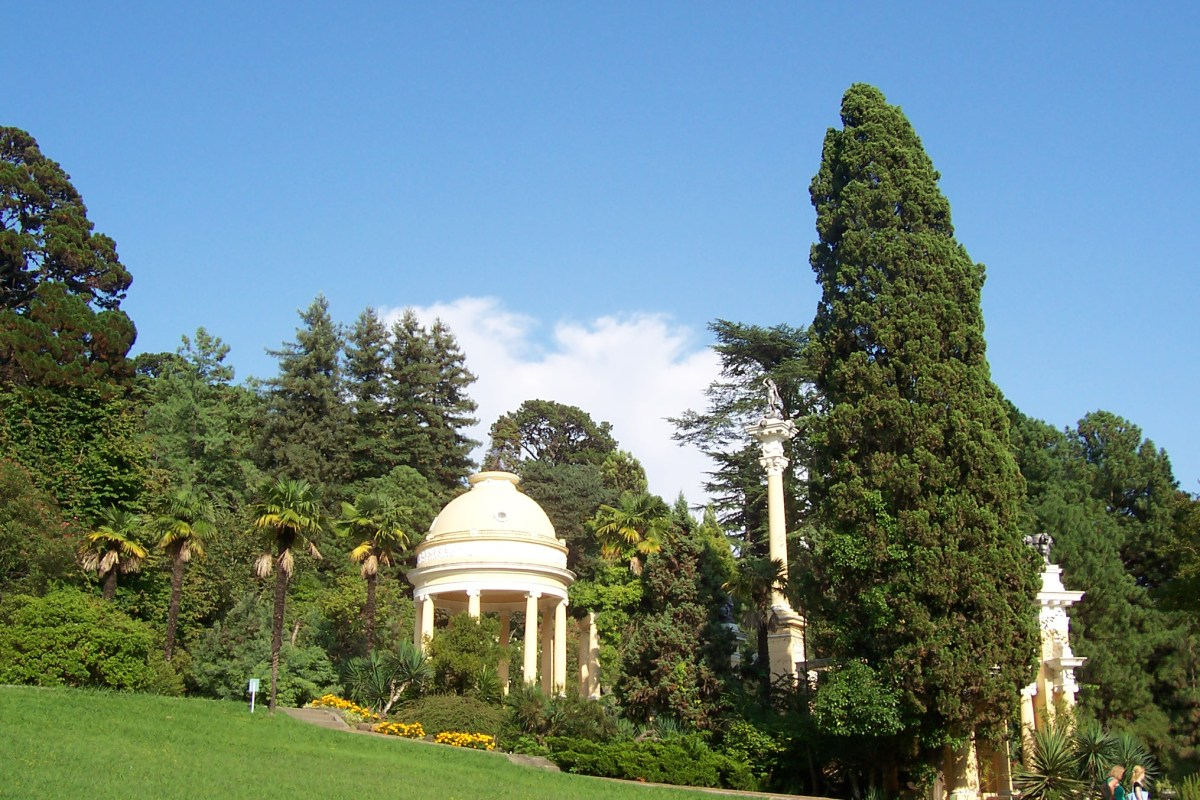 sochi arboretum