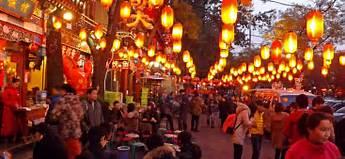 beijing night market PIC: SM