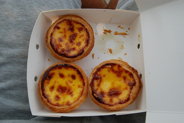 Macau - Egg Tarts PIC: SB