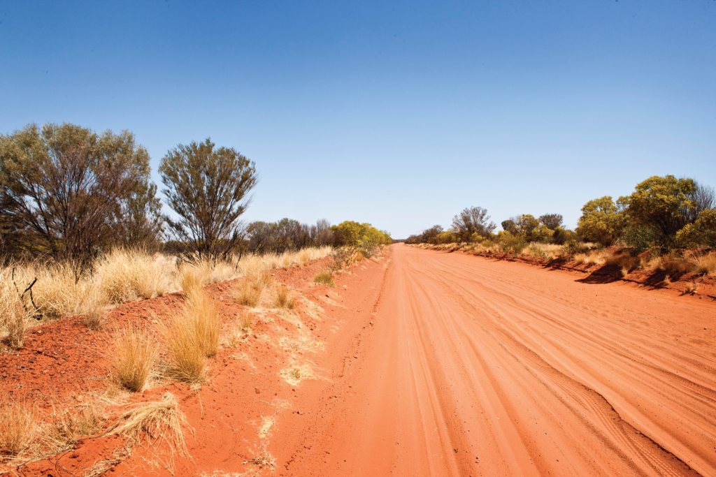 Australia - The West MacDonnell Ranges
