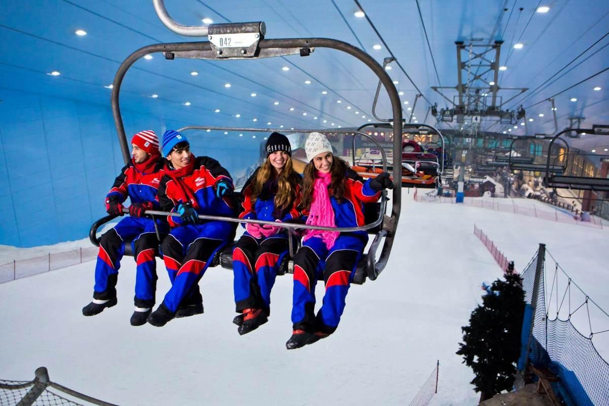 Dubai Skiing