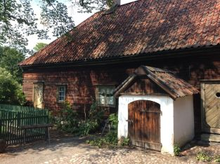 Authentic Swedish buildings from the 1880's