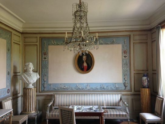 Inside Skogaholm Manor