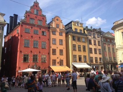 Stortorget, the city's main square