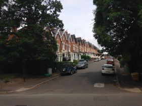 Harborne is mostly like this: row after row of cute houses