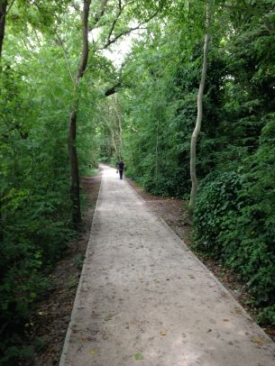 A nice greenway through Harborne