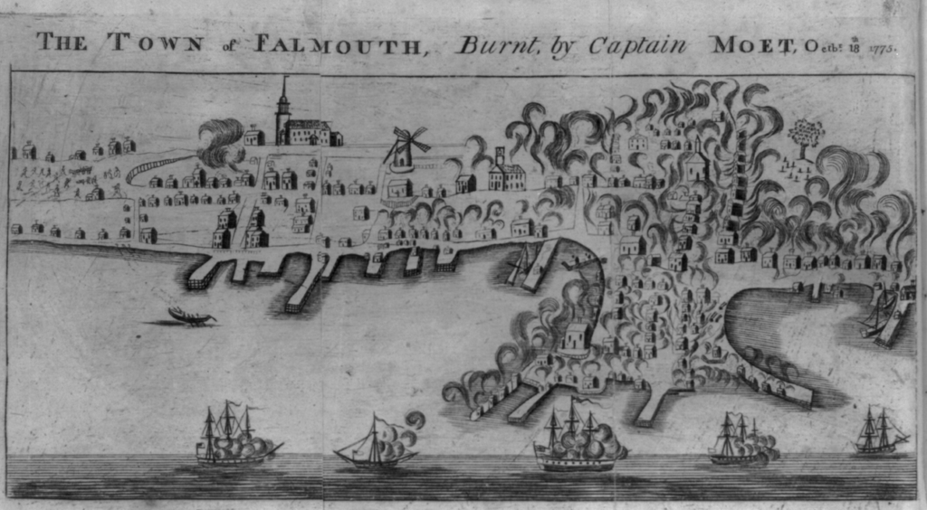 Burning of Falmouth 1775