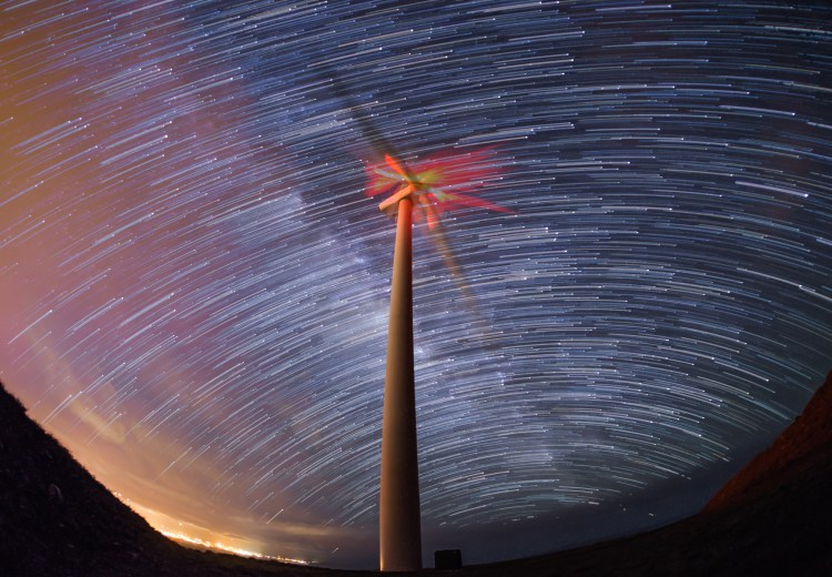 Turbine Startrail-1