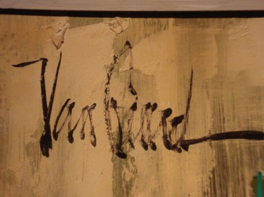 """Van Gaard"" Signature on Front of Painting"