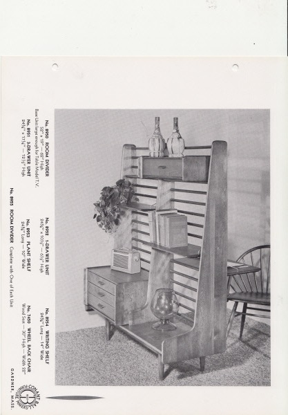 Image of Conant Ball room divider from vintage Norsemates catalog. Courtesy The Gardner Museum Inc., Gardner, MA.