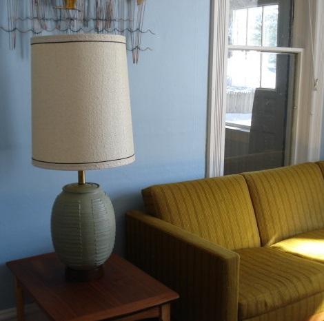 Bob Kinzie designed lamp.