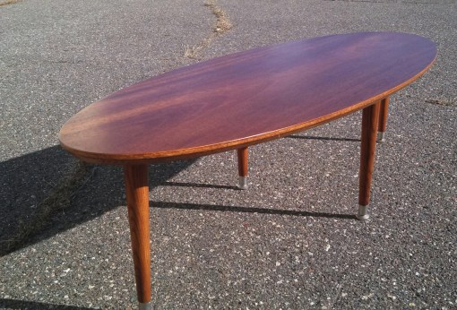 MCM inspired Surfboard Coffee Table