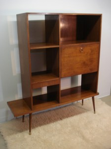 Mid Century Home-crafted Shelf/Secretary