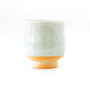 Erik Haugsby Tea Cup Celadon Woodfired Handmade Pottery Ceramicssby Tea Cup Celadon Handmade Pottery Ceramics