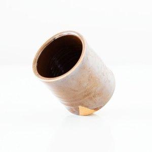Erik Haugsby Tea Cup Lava Woodfired Handmade Pottery Ceramics