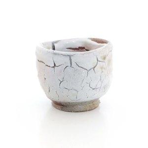 Erik Haugsby Keramik Tasse Tee Guinomi Shino Holzbrand