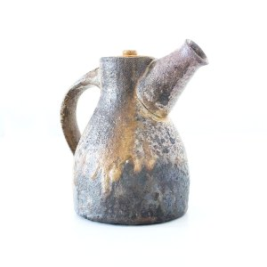 Erik Haugsby Teekanne Holzbrand Holzashe Seladon Keramik