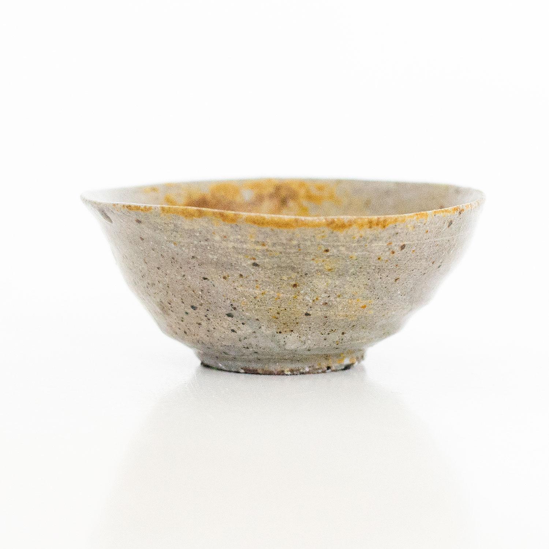 Erik Haugsby Handmade Pottery Guinomi Shot Glass Woodfired Tenmoku
