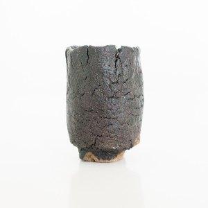 Erik Haugsby Handmade Pottery Guinomi Shot Glass Woodfired Hikidashi
