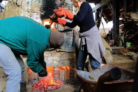 Janagama Wood-Fired Kiln Erik Haugsby Pottery