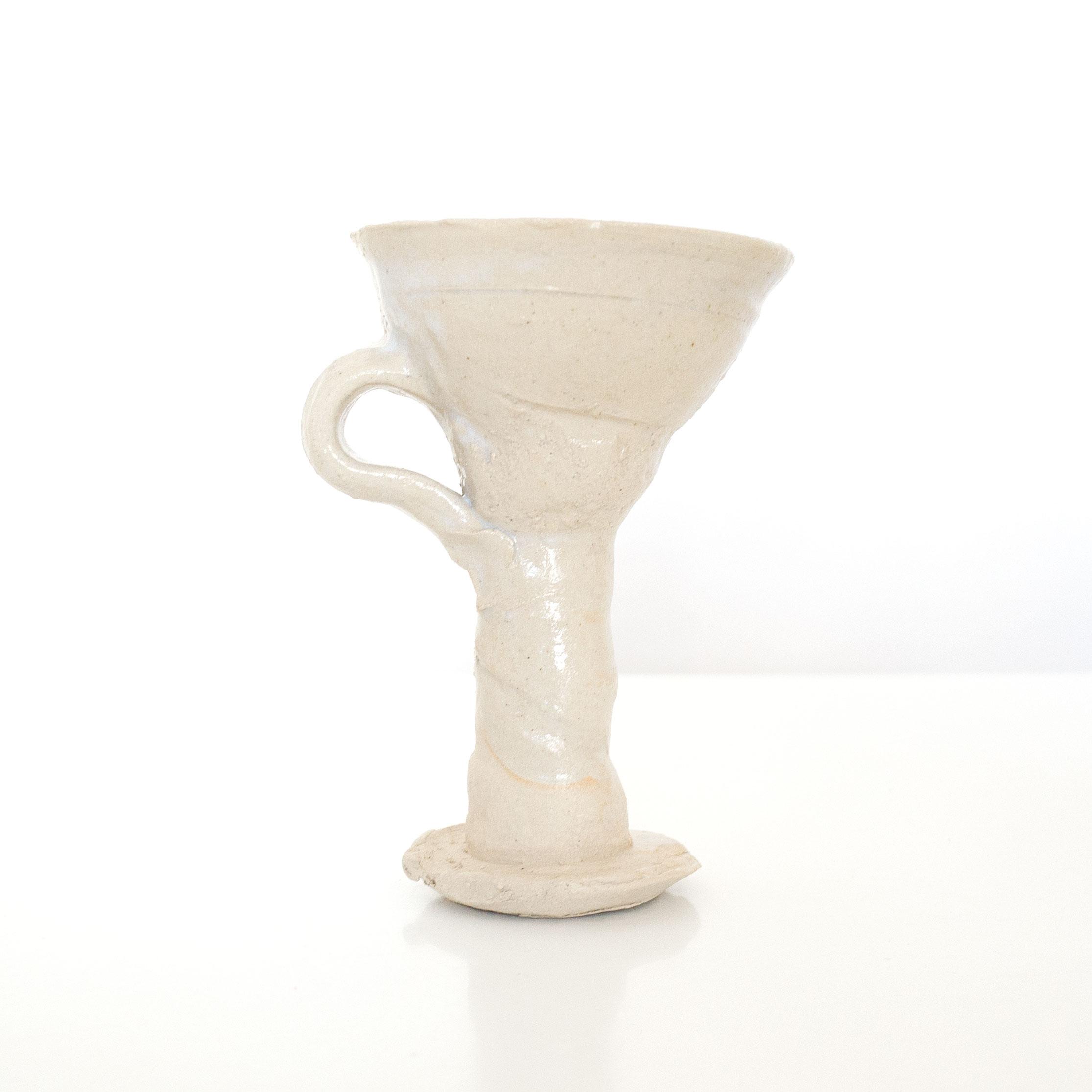 Erik Haugsby Pottery handmade ceramic chalice goblet