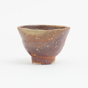 Erik Haugsby Handmade Pottery Guinomi Shot Glass Woodfired