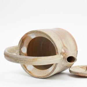 Erik Haugsby handmade woodfired teapot ceramic pottery