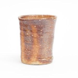 Erik Haugsby Handmade Pottery Yunomi Teacup Woodfired