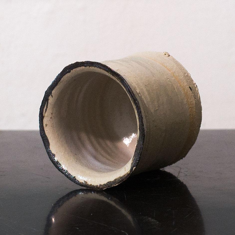 Erik Haugsby Pottery ceramic tumbler water cup