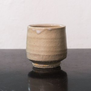Erik Haugsby Pottery handmade ceramic yunomi tea cup