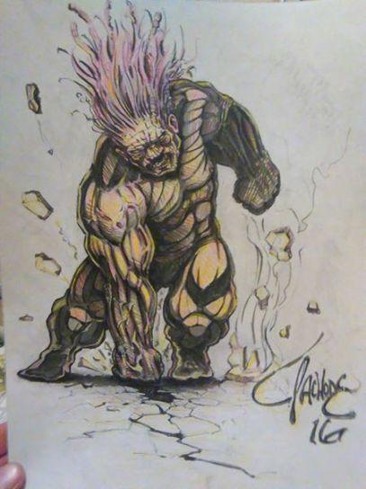 Tribal/Berserker Hulk Concept