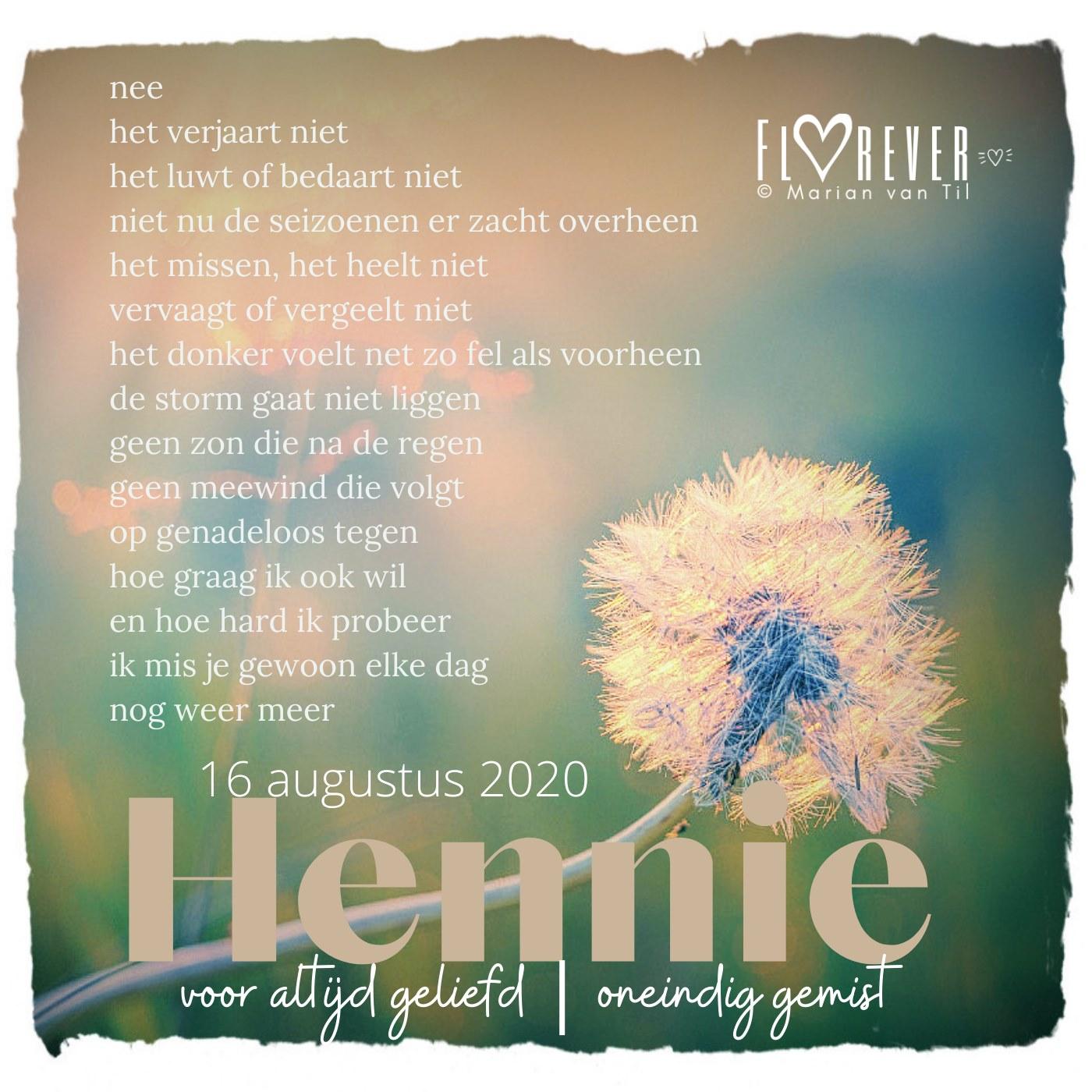 Hennie-voor-altijd-geliefd