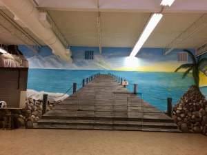 Naples muralist