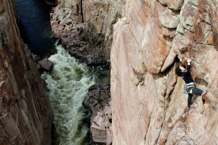 Meghan Lockhart in Fremont Canyon