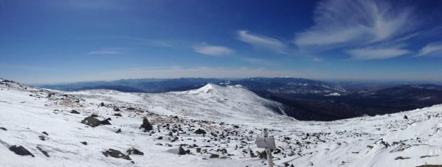 Looking south towards Mt. Monroe