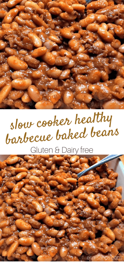 slow cooker barbecue baked beans