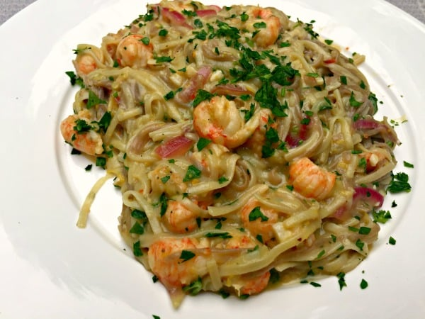 Buckwheat pasta with Langoustine