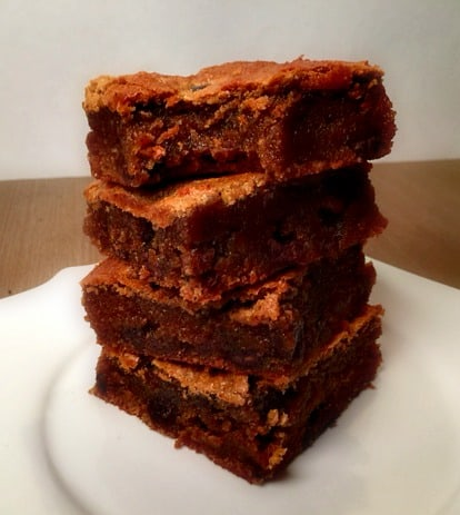 Fudgy Paleo Blondies
