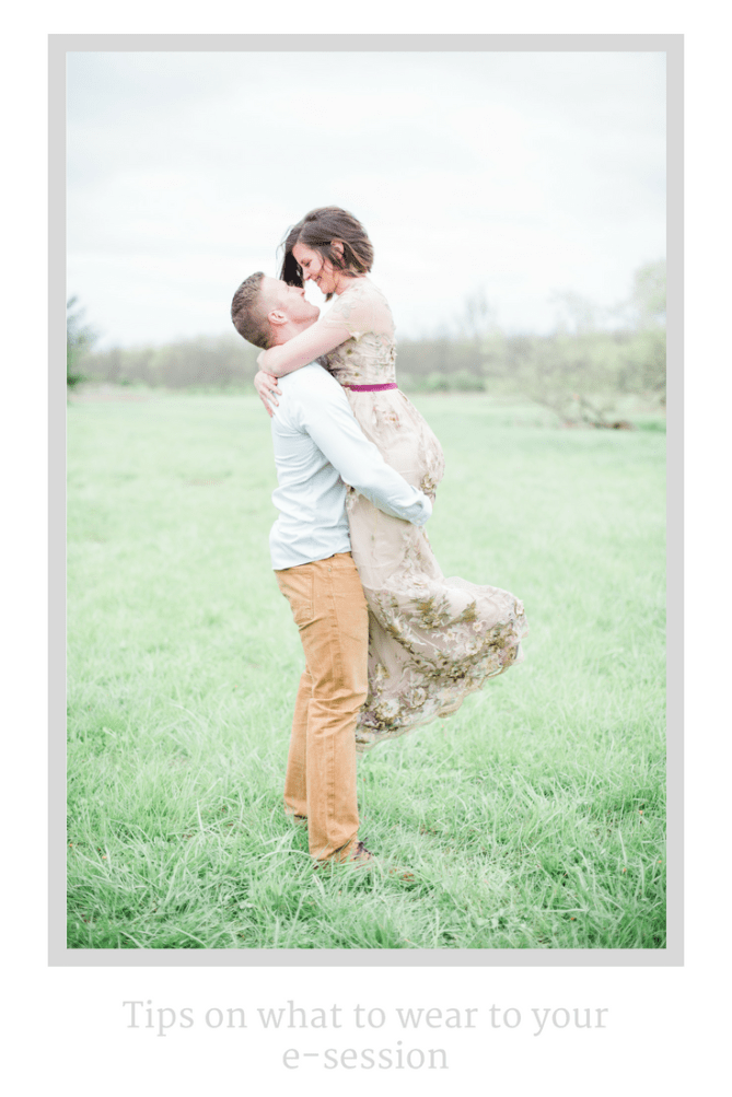 Tips on what to wear to e-session