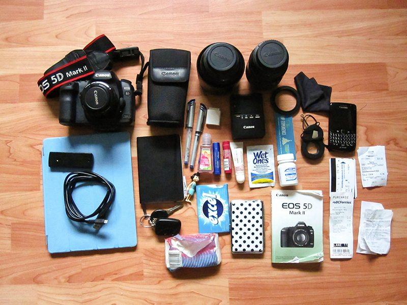 Melissa EDC In My Bag Crumpler Contents