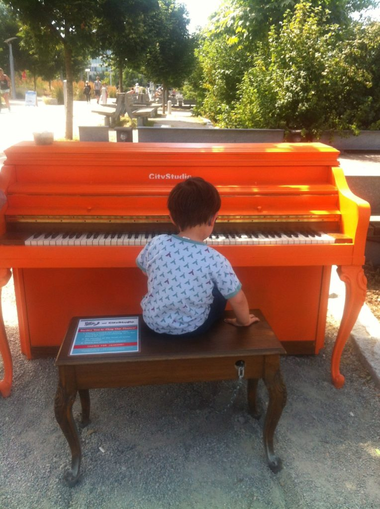 How we ended up with a piano