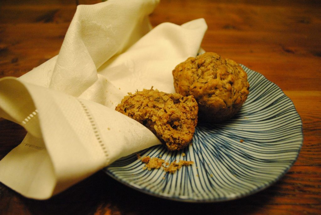 The Easiest Banana Chocolate Chip Muffins